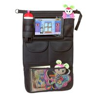 A3 Baby & Kids Car Organizer with Tablet Holder Black