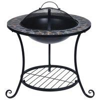 ProGarden Fire Bowl Mosaic Design 58x58x44 cm