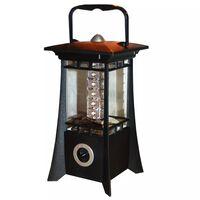 LED Hanging / Standing Garden Lantern - Black