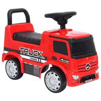 vidaXL Step Car Mercedes-Benz Truck Red