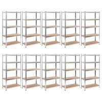 Heavy-duty Storage Rack 10 pcs