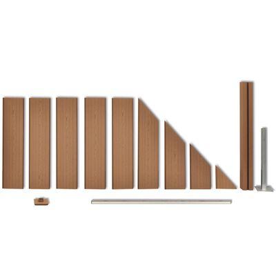 vidaXL Fence Panel WPC 105x