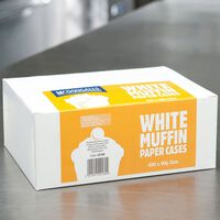 McDougalls White Muffins Paper Cases 90g - 1x480
