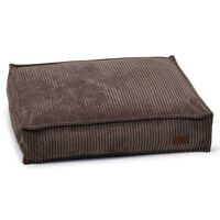 Designed by Lotte Dog Cushion Ribbed 70x55x15 cm Brown