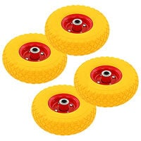 vidaXL Sack Truck Wheels 4 pcs Rubber 3.00-4 (260x85)