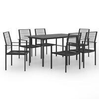 vidaXL 7 Piece Garden Dining Set