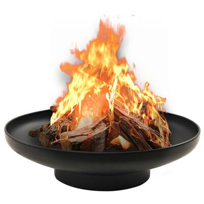 This fire pit makes a decorative and atmospheric addition to your garden or patio, while also keeping you warm when it gets colder in the evening.