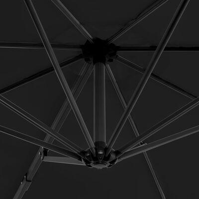 vidaXL Cantilever Umbrella with Aluminium Pole Anthracite 300 cm