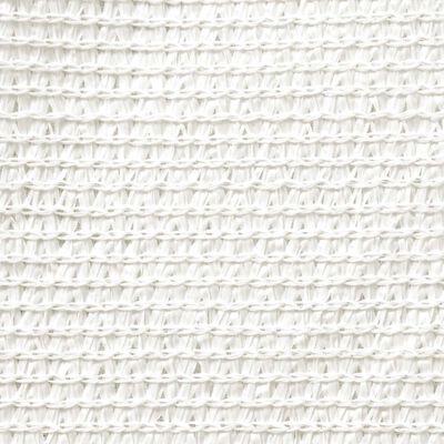 vidaXL Sunshade Sail HDPE Rectangular 4x6 m White