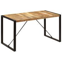 vidaXL Dining Table 140x70x75 cm Solid Mango Wood