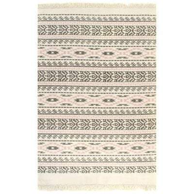 Add a unique piece to your interior with our handmade Kilim rug. The area rug will be the perfect fit in your living room, bedroom or office.