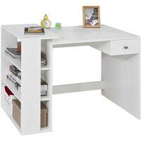 SoBuy Home Office Table Desk, Computer Desk Workstation,FWT35-W