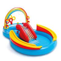 Intex Inflatable Pool Rainbow Ring Play Center 297x193 x135 cm 57453NP