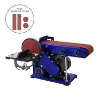 Bench Belt Disc Sander Heavy Duty Adjustable Electric Mitre Sanding /