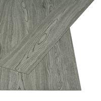 vidaXL Self-adhesive Flooring Planks 4.46 m² 3 mm PVC Grey