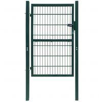 2D Fence Gate (Single) Green 106 x 190 cm
