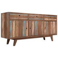 vidaXL Sideboard Solid Wood Vintage 145x40x75 cm
