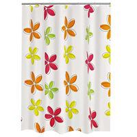 RIDDER Shower Curtain Textile Flower