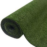 vidaXL Artificial Grass 0.5x5 m/7-9 mm Green