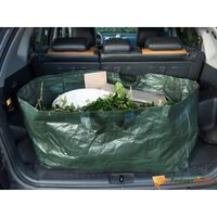 Nature Garden Waste Bag Rectangle 225 L Green