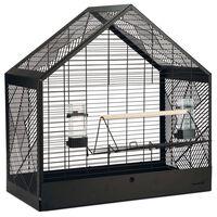 Beeztees Birdcage Yara Black 71x35x70 cm Metal