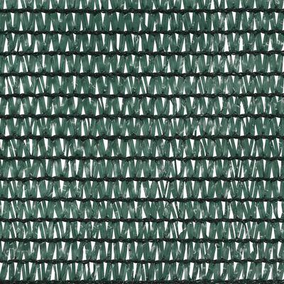 vidaXL Privacy Net Green 3.6x10 m HDPE 150 g/m²