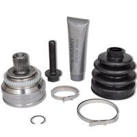 vidaXL Drive Shaft Joint Set 7 pcs Wheel Side for Audi