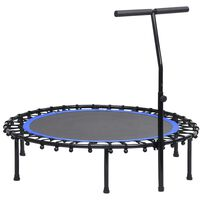 vidaXL Fitness Trampoline with Handle 122 cm