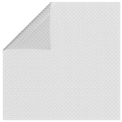 vidaXL Floating PE Solar Pool Film 300x200 cm Grey