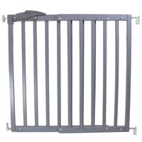 A3 Baby & Kids Safety Gate Oslo 71-102 cm Wood Grey 64635