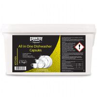 Country Range All in One Dishwasher Capsules - 1 x 150