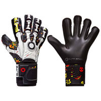 Elite Sport Goalkeeper Gloves Calaca Size 7 Black