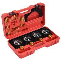 vidaXL Carburetor Vacuum Synchronizer Gauge Tool Kit