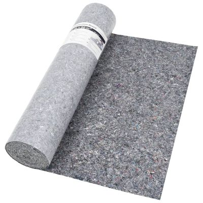 vidaXL Non-slip Painter Fleece 2 pcs 50 m 280 g/m² Grey