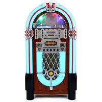 Retro Floor Standing Jukebox Music Player, MP3 Bluetooth CD Radio AUX