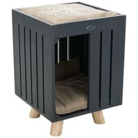 TRIXIE Cuddly Pet Cave BE NORDIC Alva Anthracite and Sand