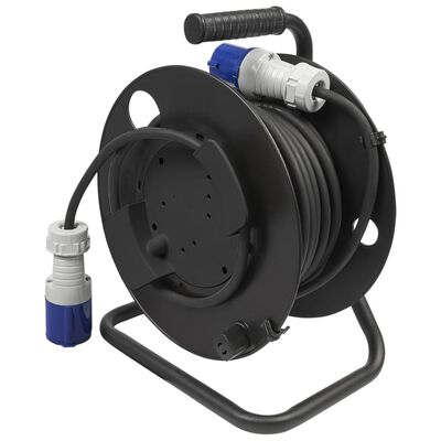 ProPlus Cable Reel Plastic Black