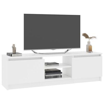 vidaXL TV Cabinet White 120x30x35.5 cm Chipboard