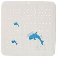 Sealskin Non-Slip Mat Safety Montreal 55x55 cm Blue and White