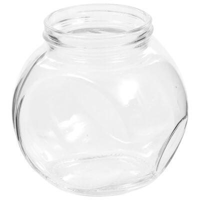 vidaXL Candy Jars 6 pcs 10.5x8x10.3 cm 480 ml