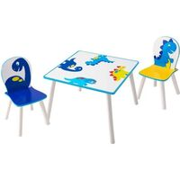Worlds Apart 3 Piece Table and Chairs Set Dinosaurs