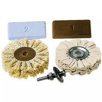 wolfcraft Five Piece Professional Polishing Set 2179000