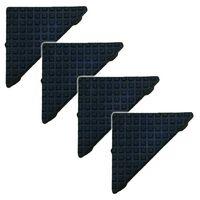 Q-Rax Racking Moulded Feet / Shelving Floor Protection / 5x1.2 cm