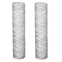 2 x 10 Inch Sediment 5 Water Filter Cartridges Fits 10 Inch