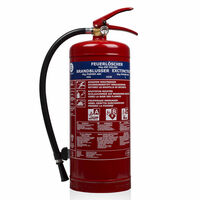 Smartwares Powder Fire Extinguisher BB6 6 kg Class ABC Steel 10.014.72