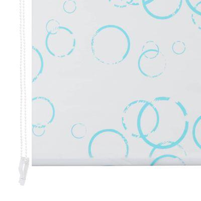vidaXL Shower Roller Blind 140x240 cm Bubble