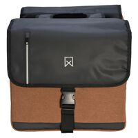Willex Double Business Bag 46 L Black and Brown