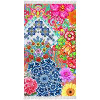 Happiness Beach Towel ZAIRA 100x180 cm Multicolour
