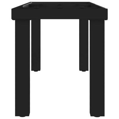 vidaXL Bench Leg I Frame 105x36x42 cm