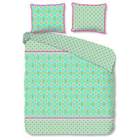 Happiness Duvet Cover ZOSIA 240x200/220 cm Lime Green